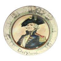 Vintage Royal Doulton Porcelain Professionals Portrait Plate – The Admiral