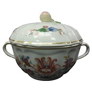 Richard Ginori China - Handled Sugar Bowl