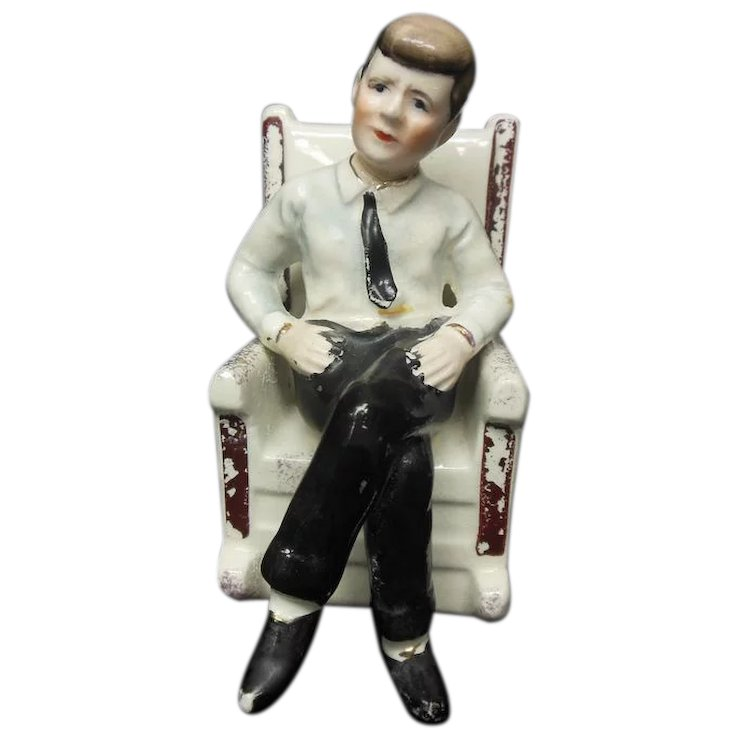 John F Kennedy Rocking Chair Salt Pepper Shaker