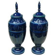 Rookwood Blue Vases