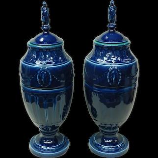 Rookwood Blue Vases