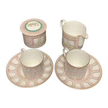 Susie Cooper Art Deco English Tea Set