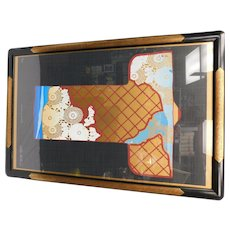 Kimono On Black Limited Edition Lithograph Print