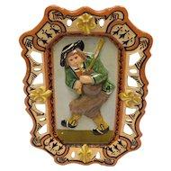 Quimper Art Pottery Plaque