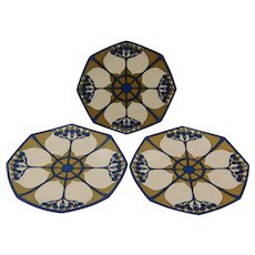 Mettlach Dish Set of Three