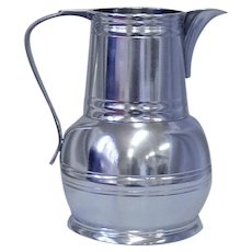 Pewter Water Pitcher from John Somers Collection