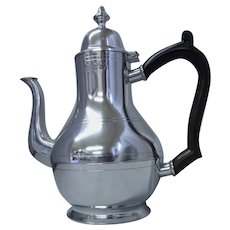 Pewter Coffee Pot from John Somers Collection