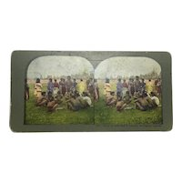 Stereoview Photograph Philippines Native Tribe