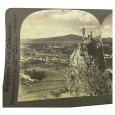 Stereograph Photo Acambaro Mexico Valley Keystone Stereoview