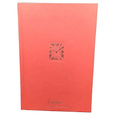 Cartier Catalog Watchmaking Book, Watches Collection 2016. Unique Gift.