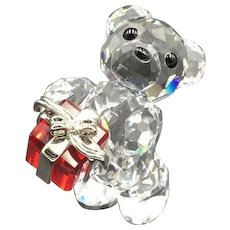 eddc38015ff2 Swarovski Crystal Kris Bear Figurine