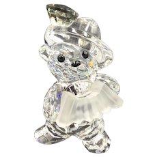 aaae0d3a39d3 Swarovski Crystal Accordion Bear Figurine