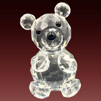 Swarovski Crystal Bear Figurine Variation 2