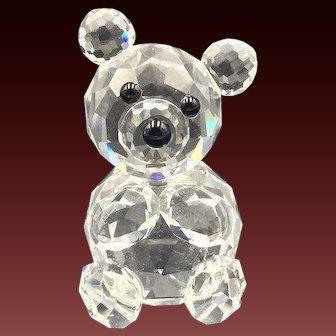 Swarovski Crystal Bear Figurine, Variation 1