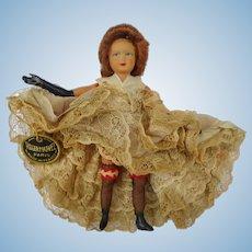 Vintage France Roger Marvel Paris Celluloid Doll