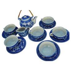 Vintage Child ´s Toy Play Set Tea Service