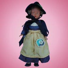 """Vintage Austria costume Doll 9"""""""