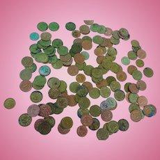 Vintage 1950´s German Play money for Child ´s Toy Merchant Shop 136 pieces