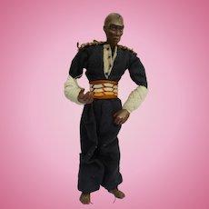 Vintage German Composition Doll Black Man