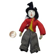 Vintage German composition Doll circus manager
