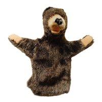 old German Steiff Teddy Bear Hand Puppet