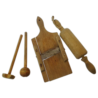 30´s Dollhouse Cook Set