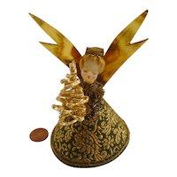 Angel wax head composition  Koestel German with golden tree