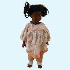 """Swiss  12"""" black design Heidi Ott  Doll"""