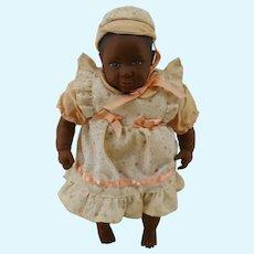 """Swiss  8"""" black girl design Heidi Ott  Doll"""