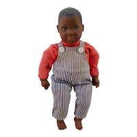 """Swiss  8"""" black boy design Heidi Ott  Doll"""
