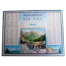 1962 French Post Almanach