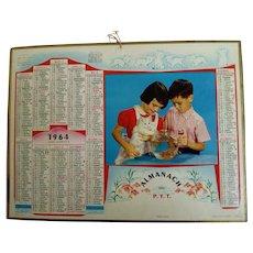 1964 French Post Almanach