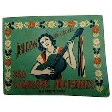 1984 - Paris - Song Book - Jeunesse qui chante - 350 chansons anciennes