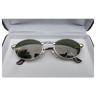 Vintage John Deere metal framed aviators Style sunglasses