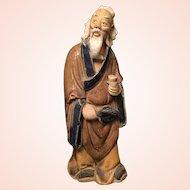 Chinese Mud Man Statue Figurine