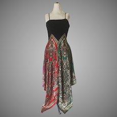 Disco Baby Handkerchief Hem Dress