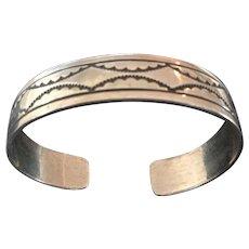 Vintage Southwestern Bracelet Stamped Design