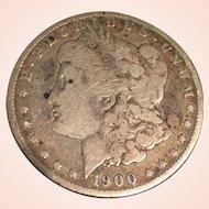 1900 Morgan O Silver Dollar