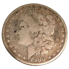 1900 Morgan O Silver Dollar