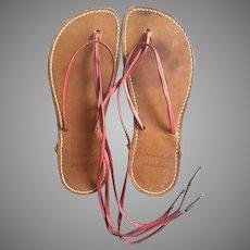RARE EARLY Bernardo Leather Sandals