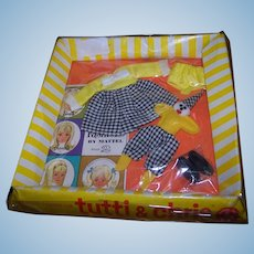 Rare Mattel Tutti & Chris Clowning around Outfit