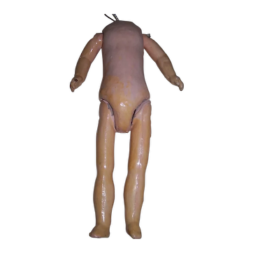 """1920's Composition French Doll Body - 11"""" HEIGHT"""