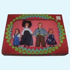 Mint in Box Konigseer Puppen Doll Family