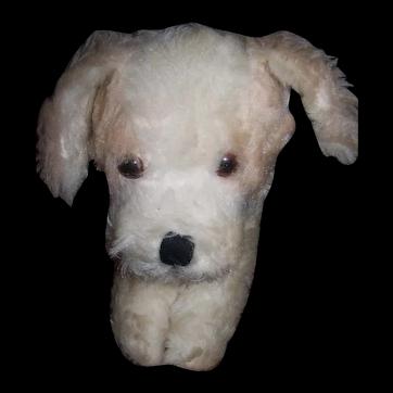 Vintage Australian Jakas Puppy Toy - Circa 1960's - 1970's era