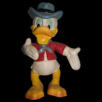Vintage Donald Duck Disney Bendy Toy