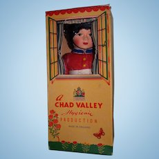 Vintage Chad Valley Cloth Doll in Original Box