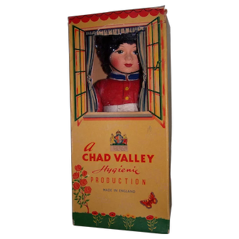Vintage Chad Valley Cloth Doll in Original Box