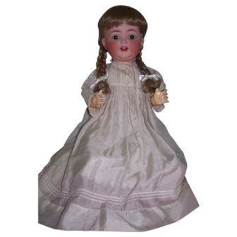 "Superb highly coloured Heubach Koppelsdorf 342.9 in stunning condition - Large 25"" doll"