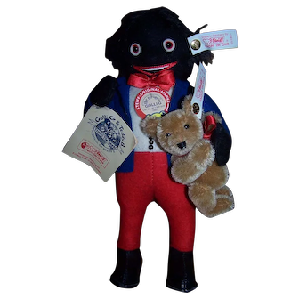 Steiff Golli G. & Teddy B. - Fabulous Collectors Item!