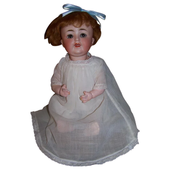 Hard to find Gans & Seyfarth German Character Doll with flirty eyes
